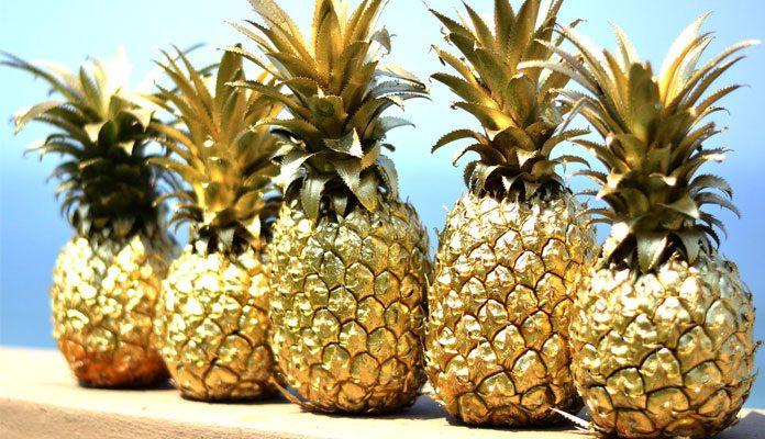 روش خوردن آناناس