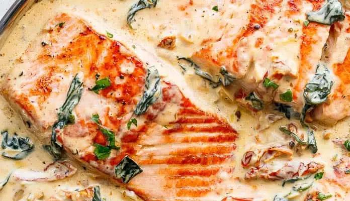 غذای آسان با ماهی سالمون
