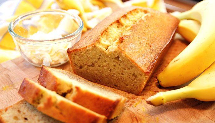 طرز تهیه کیک موزی