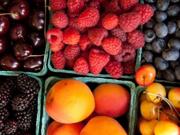 میوه و سبزیجات برای کاهش کلسترول