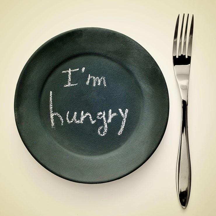 برای رفع گرسنگی چه بخوریم,سیر شدن,گرسنگی