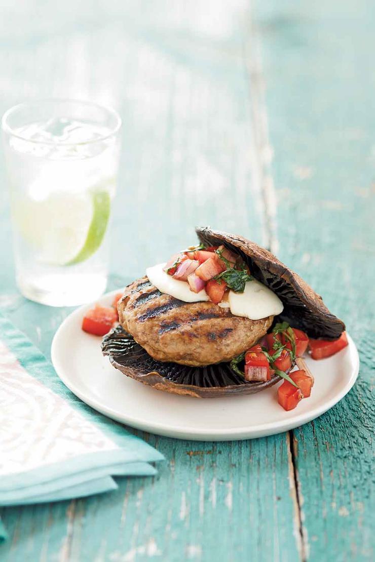 رژیم غذایی فوری برای لاغری,portabello برگر بوقلمون