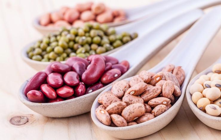 کربوهیدرات های سالم و مفید,حبوبات