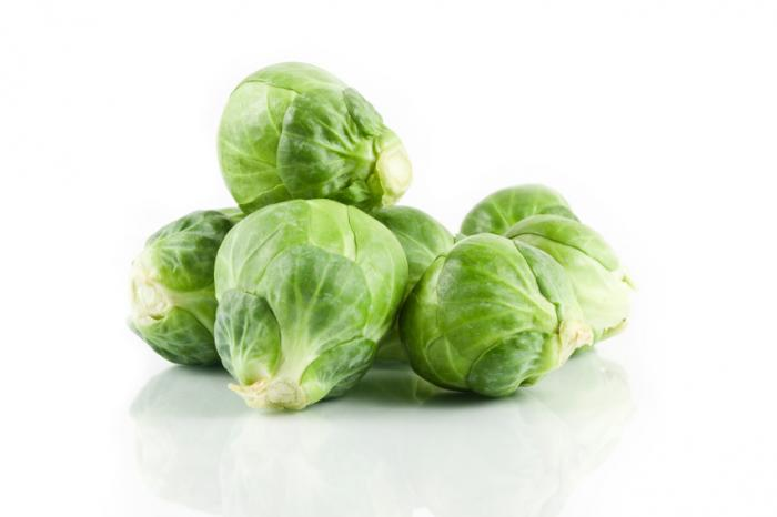 کلم بروکسل sprouts