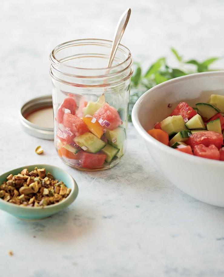 رژیم غذایی فوری برای لاغری,watermelonsalad سالاد هندوانه